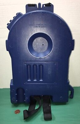 VINTAGE THE GHOSTBUSTERS PROTON PACK Blue Toy 1984 Columbia Pictures Movie
