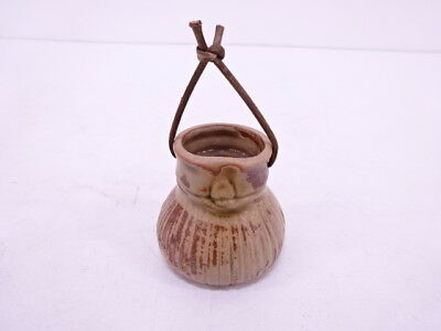 30855# Japanese Ceramics / Dorei (Ceramic Bell) / Bag Shape
