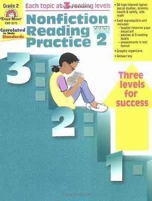 NONFICTION READING PRACTICE, Grade 3 by Evan-Moor - $3 99 | PicClick