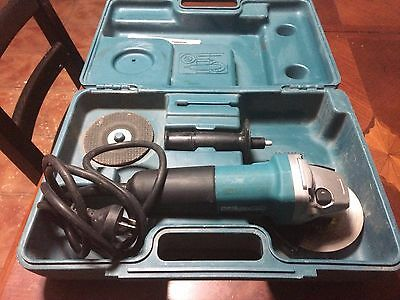 Makita  Angle Grinder,125 M,works Well,very Little Use,with Booklet