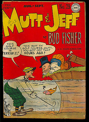 Mutt and Jeff #29 thru 31 Golden Age GROUP (3 Comics) DC 1944 FR to VG-