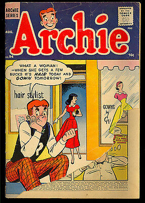 Archie #94, 95, 97 Silver Age Teen Humor GROUP (3 Comics) 1958 FR/GD