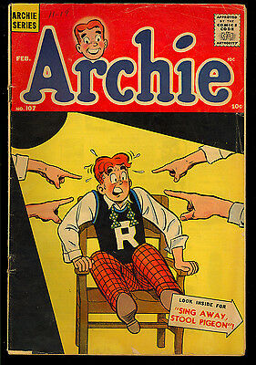 Archie #107, 109, 112 Silver Age Teen Humor GROUP (3 Comics) 1960 GD to VG-