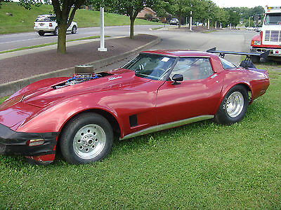 1980 Chevrolet Corvette  1980 corvette race car