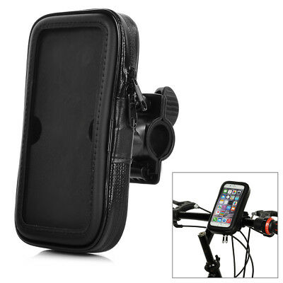 Plastic + PVC Waterproof Case Cover touch Screen Bike Lanyard For iPhone 6 Black