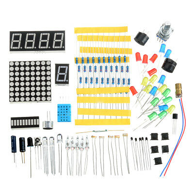 FR4 Sensor DIY Kit w/Switches/Resistors/LED Nixie Tubes Learning Kit for Arduino