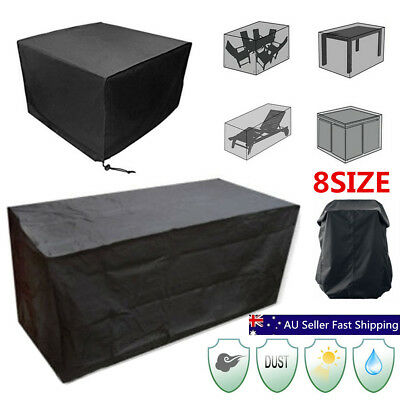 8 Size Waterproof Outdoor Patio Garden Furniture Rain Snow Cover for Chair Table
