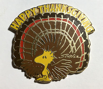 Woodstock Thanks Giving Day- old Shultz Pin