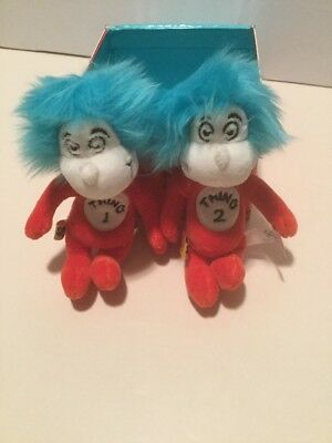Build A Bear  Dr. Suess Mini Thing 1 And Thing 2 2007