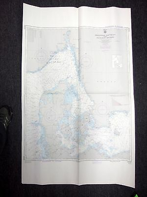1979 Defense Mapping Agency Nautical Chart Skagerrak-Kattegat No 43030 19th Ed