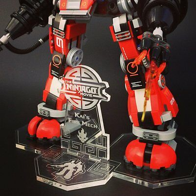 DISPLAY STAND for LEGO NINJAGO: Kai's Fire Mech (70615)