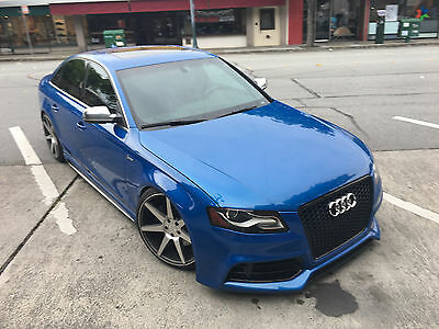 2011 Audi S4 3.0 2011 Audi S4 RARE COLOR + 6 SPEED MANUAL + 25K in UPGRADES!