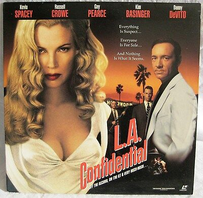 LASERDISC L.A. Confidential - Cover Good, Discs Good to VG
