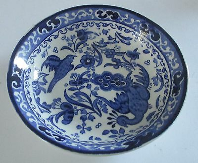 Small Blue And White Burleigh Ware Dish
