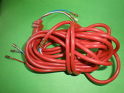 "TELEPHONE LINE CORD FOR RED PHONE NEW OLD STOCK ""Postage& package ""FREE ''. """