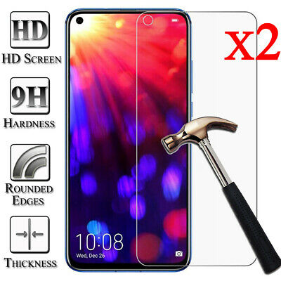 2Pcs 9H Tempered Glass Film Screen Protector For Huawei Honor 10 9 8 Lite 7X 6X
