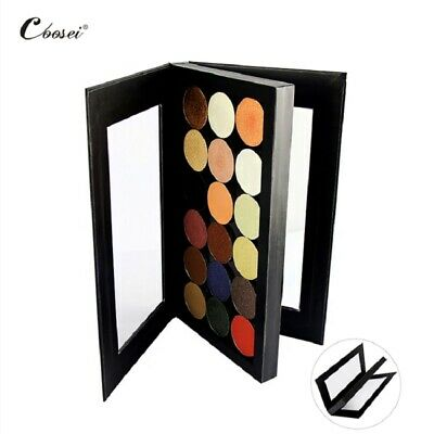 Empty Magnetic Eyeshadow Palette Matte Black Pink Crocodile Eye Shadow Palette