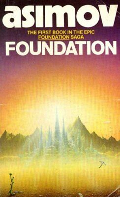 Foundation by Asimov Paperback Book The Cheap Fast Free Post