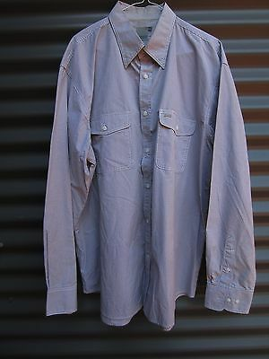 Drizabone Men's Olive Checked Long Sleeve Shirt Size XXL