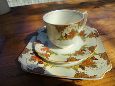 Royal Crown Staffordshire Trio.