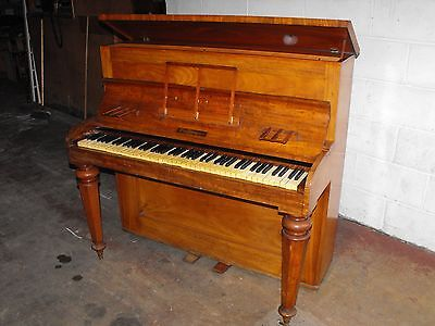 Antique Robert Wornum Piccolo Piano Forte Pre 1883 Signed By Tuner