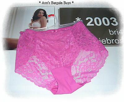 Target-*-Women's Size 12-Ladies-LACE-BoyLeg-BRIEFS * NWOT-Pink-Sexy
