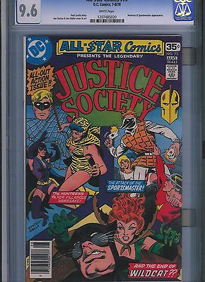 All-Star Comics # 73 CGC 9.6  White Pages. UnRestored.