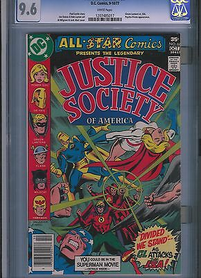 All-Star Comics # 68 CGC 9.6  White Pages. UnRestored.