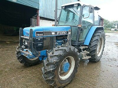 Ford tractor 7840