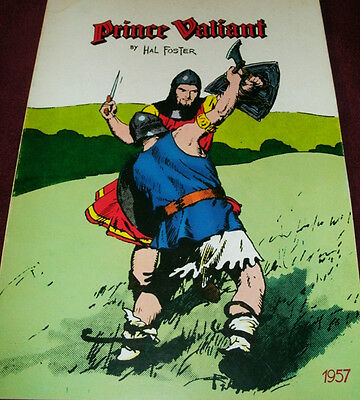 PRINCE VALIANT 1957 by Hal Foster
