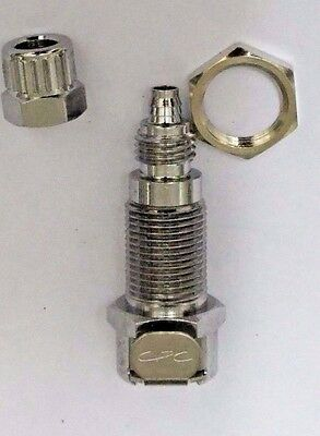 CPC (Colder) MCD1204 Quick-Coupling and fitting Body, Panel Mount, Valved, 1/4""