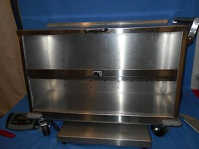 Under-Counter Dish Carts/warmer Stainless Steel w/castors NEW