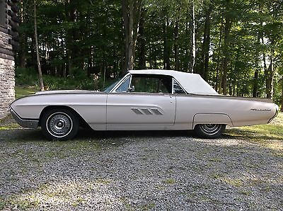 1963 Ford Thunderbird Coupe 2 door convertible 1963 Ford Thunderbird Convertible