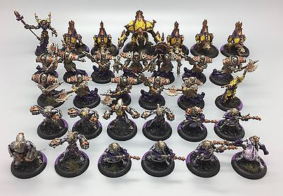 Privateer Press Warmachine Hordes Cryx Army Fully Painted And Based