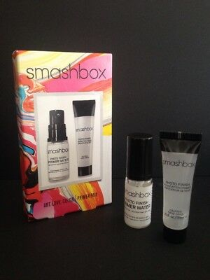 smashbox Limited Edition Photo Finish Primer 7.1ml & Primer Water 5ml Boxed Set