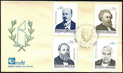 Argentina 1985 Birth Anniversaries FDC First Day Cover #C43419