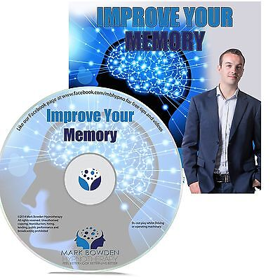 IMPROVE YOUR MEMORY HYPNOSIS CD - Mark Bowden Hypnotherapy mental focus