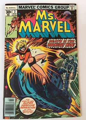 Ms. MARVEL # 3 1977 Marvel Comics Group Condition As In Photos.