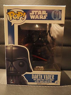 Funko pop darth vader #01 chrome