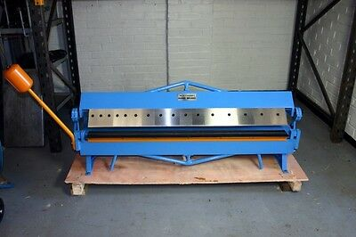 New Box And Pan Sheet Metal Folder Bending Brake 1220Mmx1.5Mm With Stand