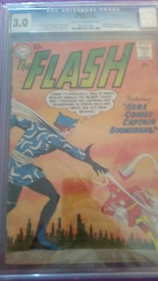 Flash #117 CGC 3.0 1st Captain Boomerang Suicide Squad