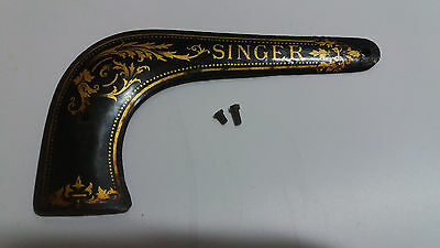 RARE vintage SINGER sewing machine 12 12k rear service plate in good condition