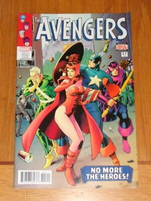 Avengers #3.1 Marvel Comics Nm (9.4)