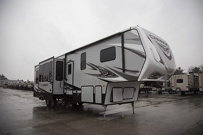 New 2017 Carbon 357 Fifth Wheel Toy Hauler Travel Trailer Clearance Sale Prices