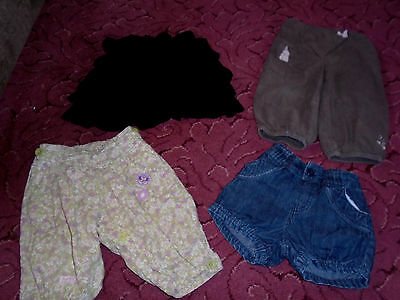 Girls Next Debenhams shorts jeans skirt Clothes 18-24 Months Bundle