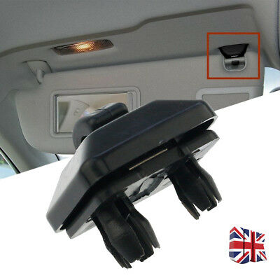 Black Sun Visor Clip Hook Bracket For Audi A1 A3 A4 Q3 Q5 8U0857562 UK STOCK