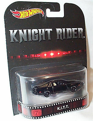 Knight Rider K.I.T.T 1-64 scale new in packet Hot wheels DWJ74