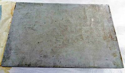 """Vintage Engineers Precision Cast Iron Small Surface Plate 12"""" x 8"""" VGC Old Tool"""