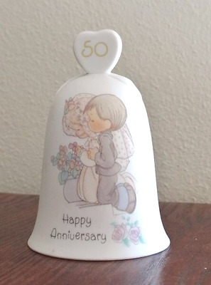 Precious Moments Collectible 50th Anniversary Bell