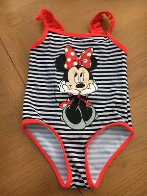 Minnie Mouse Swimsuit 18-24 Months